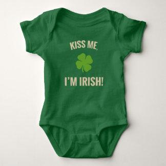 Kiss Me, I'm Irish Baby Shirt