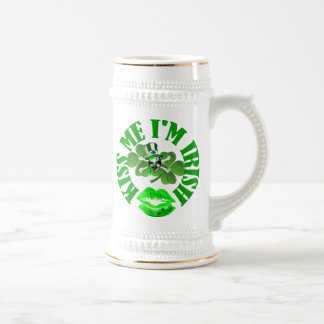 kiss me I'm Irish Beer Stein
