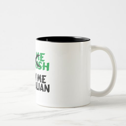 Kiss Me Im Irish Blow Me Im Italian Coffee Mug