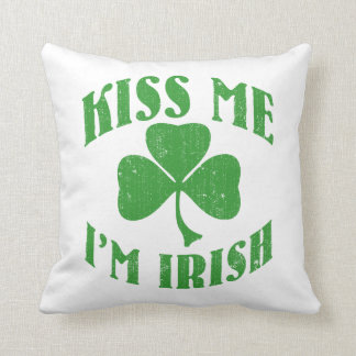 Kiss me I'm Irish Cushion
