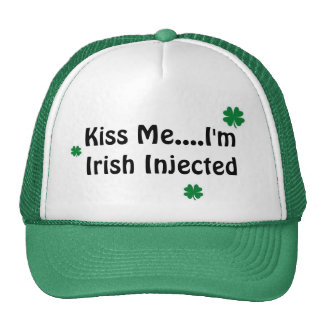 Kiss Me....I'm Irish Injected Cap