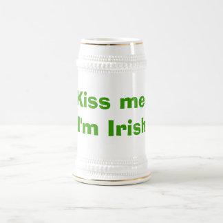 Kiss me, I'm Irish Beer Steins