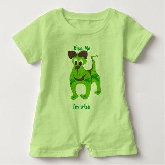 Kiss Me, I'm Irish Puppy T-shirt