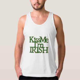 Kiss me I'm Irish St Patrick's Day Singlet