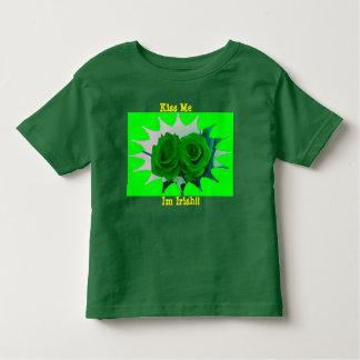 Kiss Me Im Irish Toddler T-Shirt