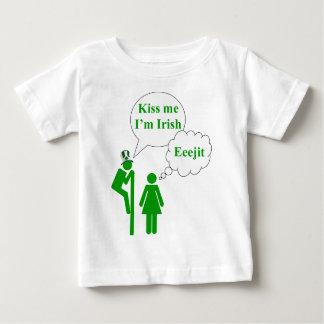 Kiss me I'm Irish toilet sign Shirts
