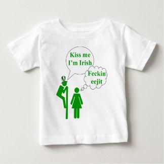 Kiss me I'm Irish toilet sign Tee Shirt