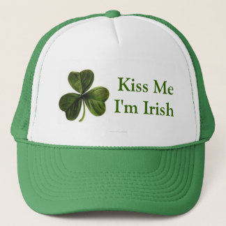 Kiss Me I'm Irish Trucker Hat