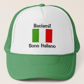 Kiss Me! I'm Italian Cap