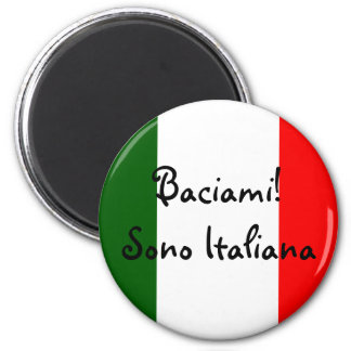 Kiss Me! I'm Italian Magnet