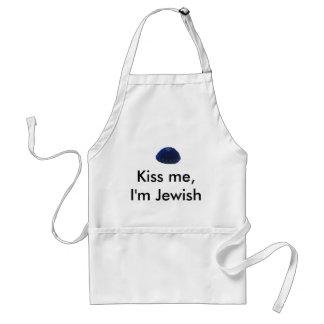 Kiss Me, I'm Jewish Standard Apron