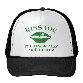 Kiss Me I'm Magically Delicious Mesh Hat