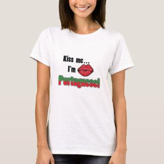 Kiss me I'm Portuguese T-Shirt
