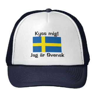 Kiss Me! I'm Swedish Cap