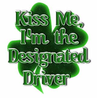 Kiss ME, I'm the Designated Driver Photo Sculpture