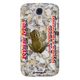 Kiss Me! I'm Your Prince Charming! Samsung Galaxy S4 Cases