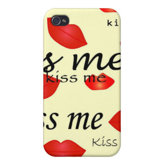 Kiss Me iPhone Case 4 iPhone 4/4S Covers