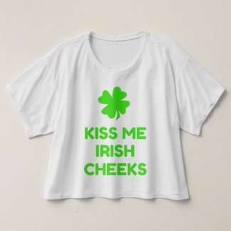 Kiss Me Irish Cheeks T-Shirt