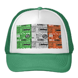 Kiss Me Irish Flag Cap