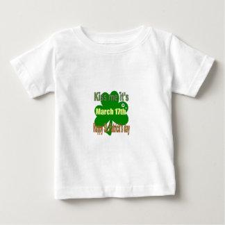 kiss me it's St. Patricks day Baby T-Shirt