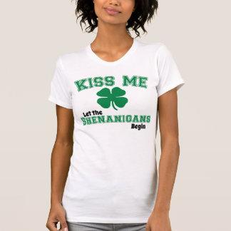 Kiss Me, Let the shenanigans begin T-Shirt