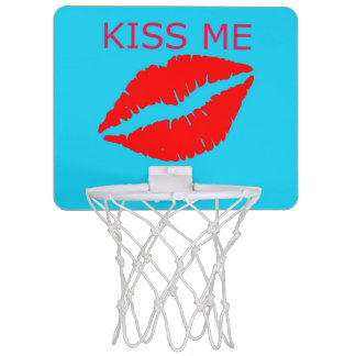 Kiss Me Mini Basketball Hoop