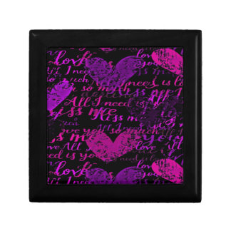 Kiss Me Miss Me Purple Gift Box
