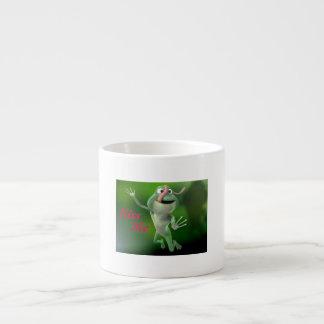 Kiss Me Tree Frog Expresso Mug Espresso Mug