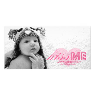 Kiss Me Valentine s Day Photo Cards