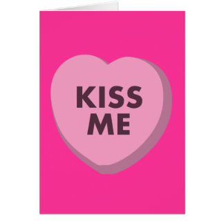 Kiss Me, Valentine's Day Card