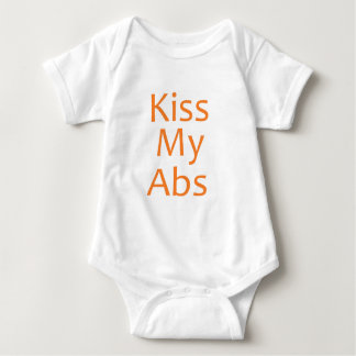 Kiss my Abs Baby Bodysuit