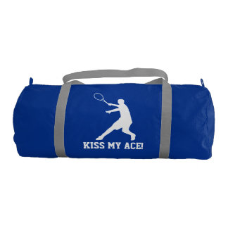 Kiss my ace Custom tennis bag for player and coach