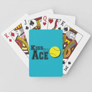 Kiss My Ace - Playing Cards