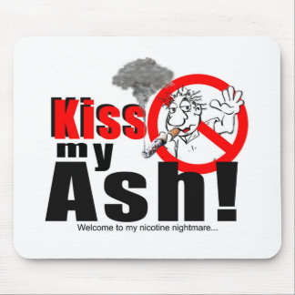 KISS MY ASH_LOGO_1 MOUSE PAD