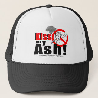 KISS MY ASH_LOGO_1 TRUCKER HAT