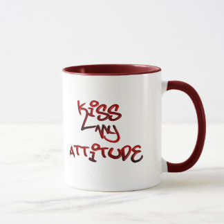Kiss My Attitude Mug