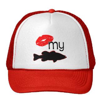 Kiss my Bass - funny bass fishing Cap