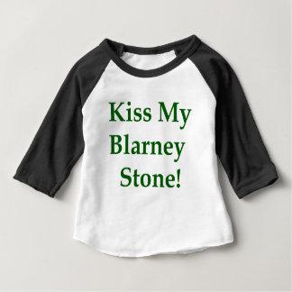 Kiss My Blarney Stone Baby T-Shirt