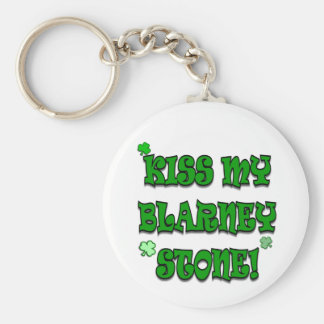 Kiss My Blarney Stone Irish Apparel and Gifts Key Chains