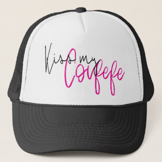 KISS MY COVFEFE TRUCKER HAT