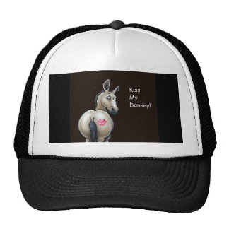 kiss my donkey cap