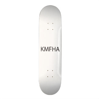 Kiss My Fat Hairy ai Skate Boards