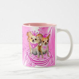 Kiss My Tiara Princess Chihuahua Mug