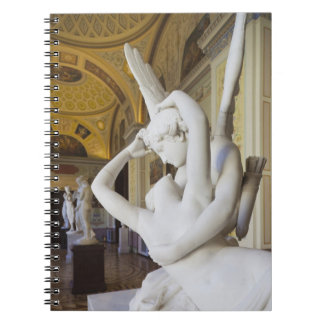 Kiss of Cupid and Psyche, by Antonio Canova 2 Spiral Notebook