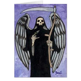 """Kiss of Death"" Card"