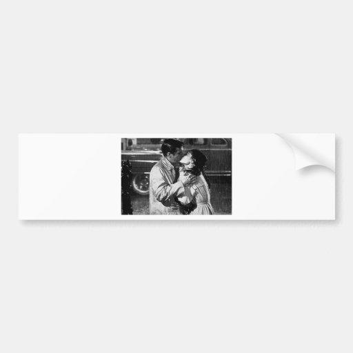 kiss of the film bonequinha of luxury bumper sticker