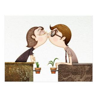 Kiss Postcard