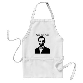 Kiss the Abe Standard Apron