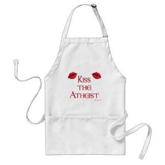Kiss the Atheist Standard Apron