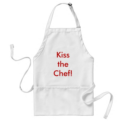 Kiss the Chef! Aprons